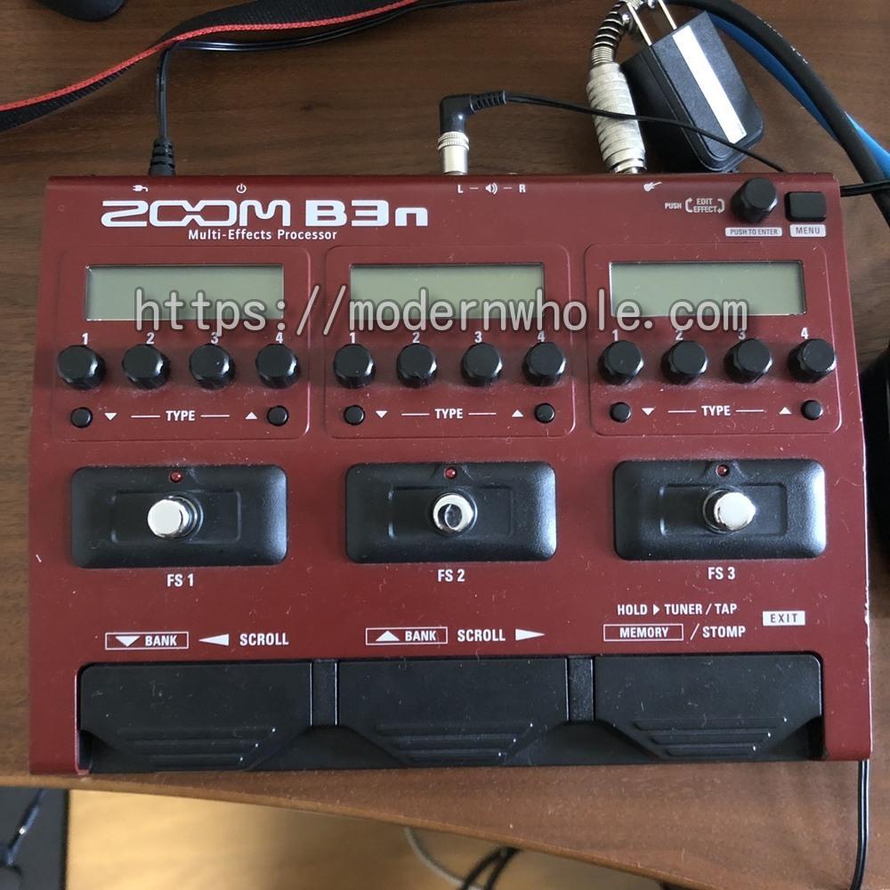 ZOOM B3nはすべてのベーシストにお勧め!ベース用マルチエフェクター