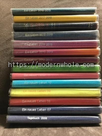DELFONICS(デルフォニックス)の手帳は厚さも紙質も良く使いやすい